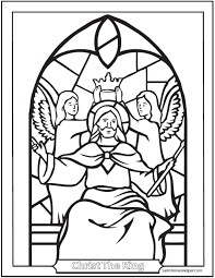 Small Picture Catholic Saint Coloring Pages