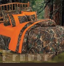 Charming Image Of Bedroom Decoration Using Orange And Dark Green Camouflage  Bedroom Sets Including ...