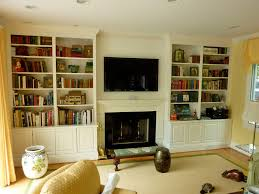 spray lacquered wall unit and custom mantelspray lacquered wall unit and custom mantel designer augusta moravec