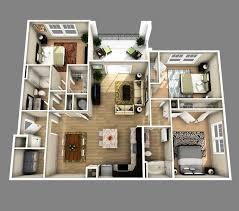 4 bedroom house plan 3d inspirational 3d open floor plan 3 bedroom 2 bathroom google search
