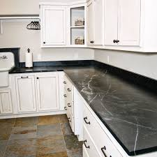 image of black soapstone countertop