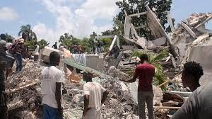 Schweres Erdbeben in Haiti