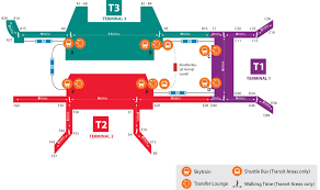 Map Of Changi Airport Terminals Free Things To Do