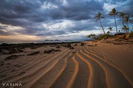 leading lines photography. Ripples In The Sand Create Leading Lines This Photo From Sunset Beach Fiji. Photography