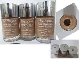 Neutrogena Healthy Skin Liquid Makeup Color Swatches
