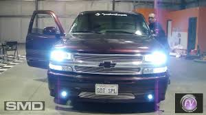 7000k HID Projector Fog/Driving Lights - SMD Chevy Tahoe - YouTube