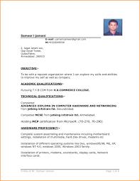 Resume Format Hd 7 Bahamas Schools