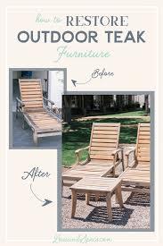 outdoor furniture restoration. How To: Outdoor Teak Wood Furniture Restoration Outdoor Furniture Restoration