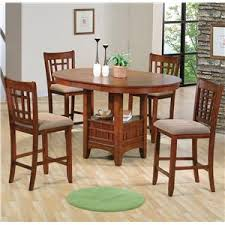dining room chairs counter height. crown mark empire counter height dining table and chair set room chairs