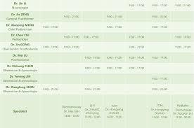 Doctor Schedule