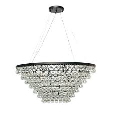 chandeliers glass drop chandelier interiors light tapered crystal