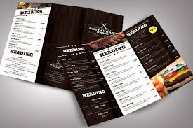 Free Catering Menu Templates For Microsoft Word 14 Free Restaurant Menu Templates Word Excel Pdf
