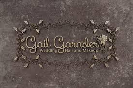 Hair Designs By Gail Elegant Feminine Hair And Beauty Logo Design For Wedding
