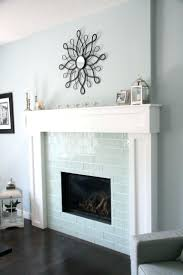 ... Diy Glass Tile Fireplace Surround Gas Mosaic ...