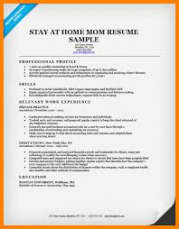 6 How To Put Stay At Home Mom On Resume Free Ride Cycles