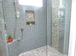 subway tile bathroom floor decoration idea and decor beveled