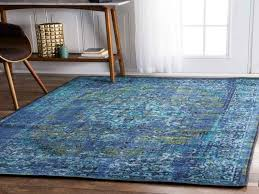 vibrant overdyed rugs these machine woven rugs are easy to clean for blue overdyed rug
