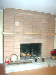refacing a brick fireplace with stone veneer how to reface a stone fireplace how to reface