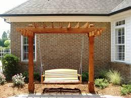 Simple Pergola pergola swing plans simple pergola plans best home decor 7101 by xevi.us