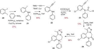 1 4 Benzodiazepines And New Derivatives Description