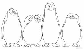 Small Picture Printable Penguin Coloring Pages For Kids Cool2bKids