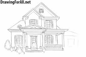 architecture house drawing. How To Draw A House For Beginners Architecture Drawing