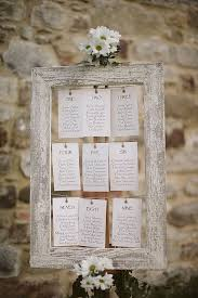 Picture Frame Seating Chart A Romantic Italy Destination Wedding Seating Plan Wedding