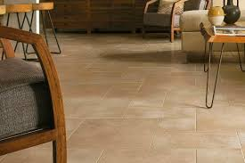 Basement Flooring With Stone Looks   D8103