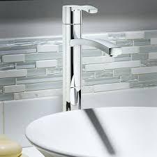 vessel sink drain bathroom sink faucets bathroom vessel faucet without drain polished chrome kraus vessel sink