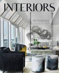 Design Magazine Usa Seed Design Usa Featured In Interiors Magazine November