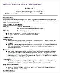 Resume Job Duties Examples Fascinating Resume Samples First Job Time Sample Part Template Theoutdoorsco