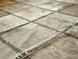 cowhide patchwork rug 8 x 10