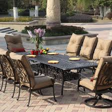 metal outdoor dining chairs. Patio 10 Person Outdoor Dining Set With Metal Furniture In Sets How To Chairs S