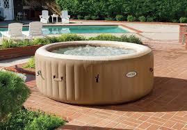 intex whirlpool pure spa bubble small
