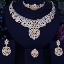 Bridal Flower <b>Leaf Luxury necklace</b> From Leisfita.com