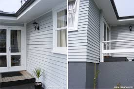 Resene Exterior Colour Chart House Has A Colour Update With Resene Silver Chalice