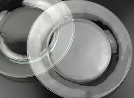 clear glass plates 12 libbey crisa moderno dinner