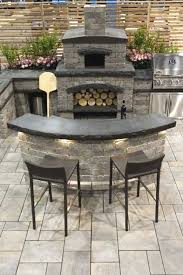 awesome outdoor fireplace pizza oven combo plans