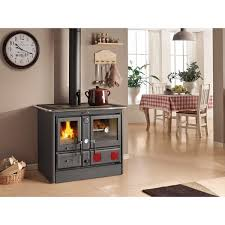 Hergom Cocina Calefactora Cerrada Bilbaina Nansa NegraCocinas Calefactoras De Lea Precios