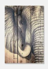 african elephant cedar wall art on african elephant canvas wall art with 5 ppcs sunset elephant painting canvas wall art picture home