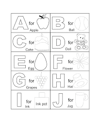 Alphabet Coloring Pages For Preschoolers Letter Click The Full