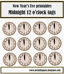 15 Free New Years Eve Printables Celebrate Decorate