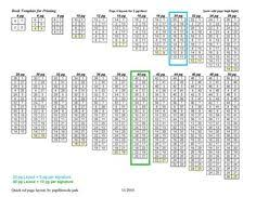 free printable folding book template