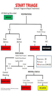 First Aid Procedure Flow Chart Start Triage First Aid For Free