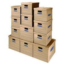 Cardboard Storage File Box With Lid