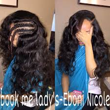 Braid Pattern For Sew In Weave With Side Part Delectable Side Part Sew In Hair Styles And Looks Pinterest Black Girls
