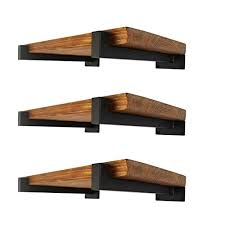 6 pcs floating shelf brackets 8