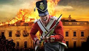 「the British army invaded Washington and burn the Capitol.」の画像検索結果
