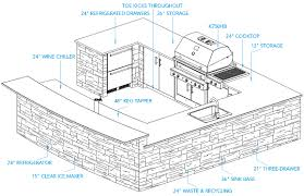 Outdoor Kitchen Design Plans