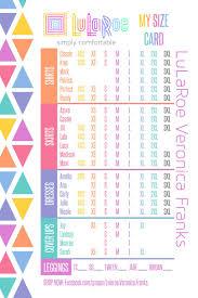 Lularoe Amy Shirt Size Chart Rldm